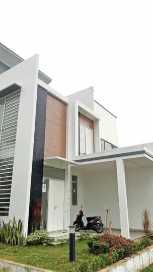 Tipe Rumah Amethyst - Contoh rumah tampak depan