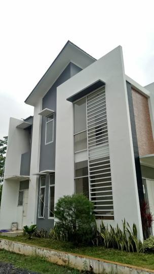 Tipe Rumah Amethyst - Contoh rumah tampak samping